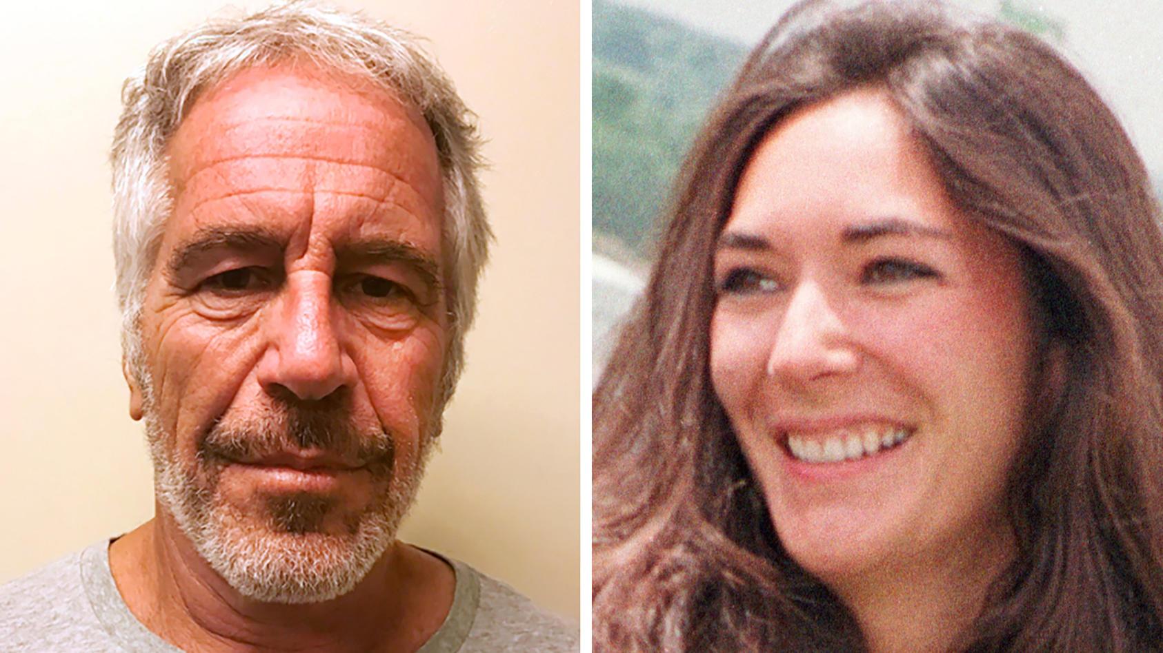 Epstein-Skandal - Jeffrey Epstein und Ghislaine Maxwell