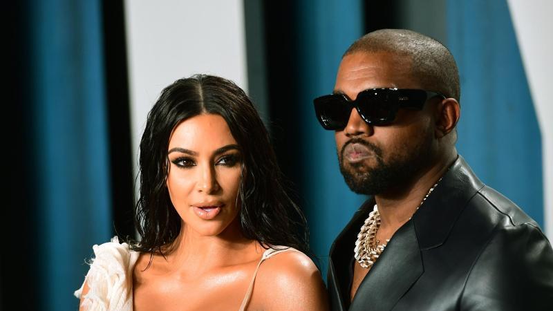Kanye West und Kim Kardashian sind seit 2014 miteinander verheiratet. Foto: Ian West/PA Wire/dpa