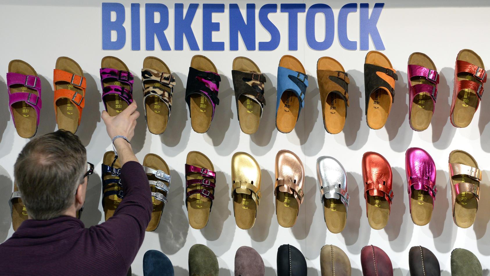 Sandalen der Kultmarke Birkenstock: Diese Modelle sind im Trend.