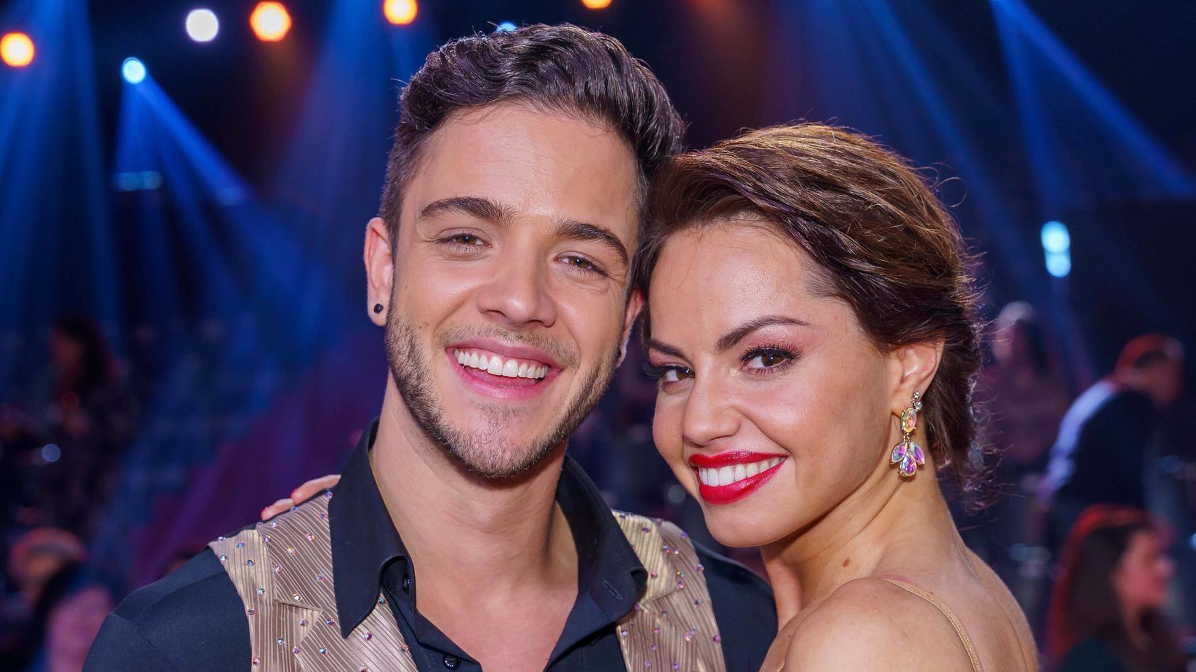 """Bei """"Let's Dance"""" 2020 lernten sie sich kennen: Luca Hänni und Christina Luft."""