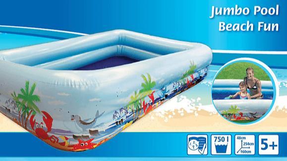 Planschbecken von Splash Fun.