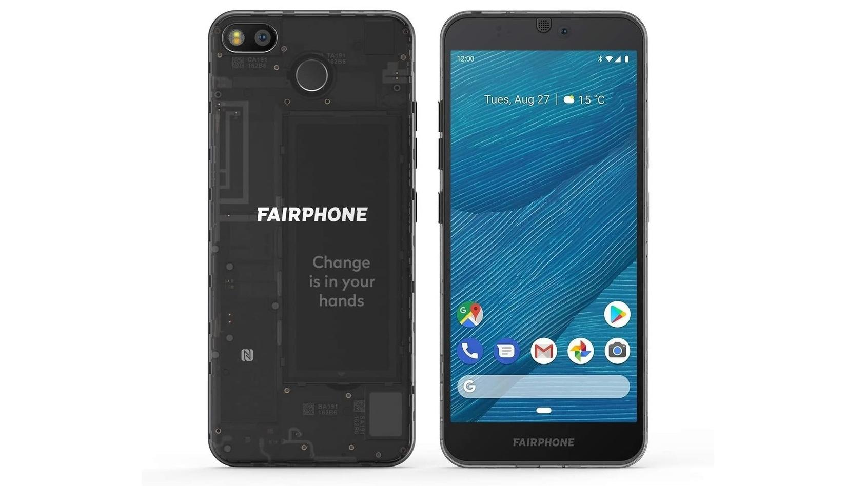 Beim Fairphone 3 lassen sich alle wichtigen Komponenten einfach austauschen.