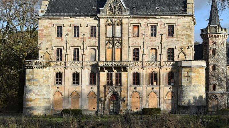 Schloss Reinhardsbrunn in Thüringen. Foto: Martin Schutt/dpa-Zentralbild/dpa/Archivbild