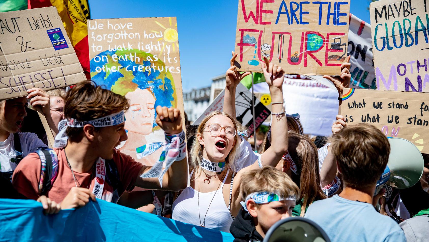 Klimademonstration Fridays for Future
