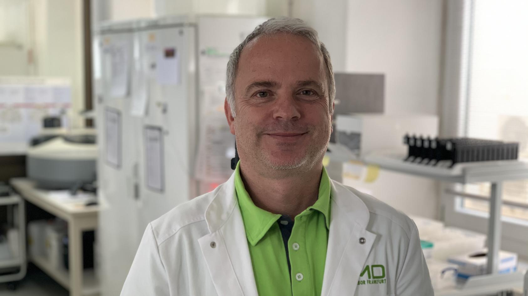 Dr. Martin Stürmer ist Virologe am Klinikum der Johann-Wolfgang-Goethe Universität.