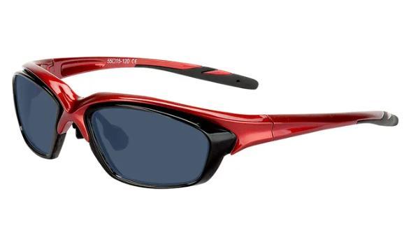 Brille beim Sport tragen.