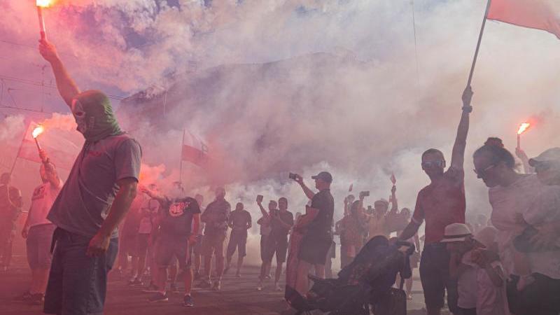 Polen erinnert an den Warschauer Aufstand gegen die deutsche Besatzungsmacht vor 76 Jahren. Foto: Krzysztof Kaniewski/ZUMA Wire/dpa