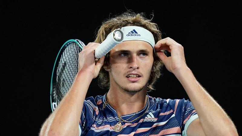 Gewann sein Auftaktmatch in Biot: Alexander Zverev. Foto: Scott Barbour/AAP/dpa