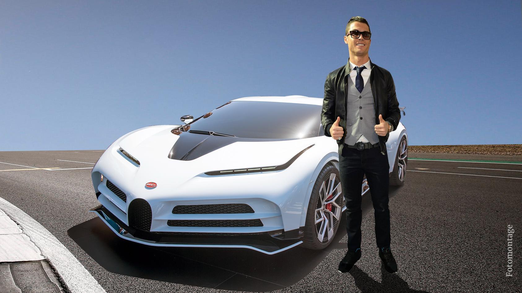 Cristiano Ronaldo und sein neues Luxusauto