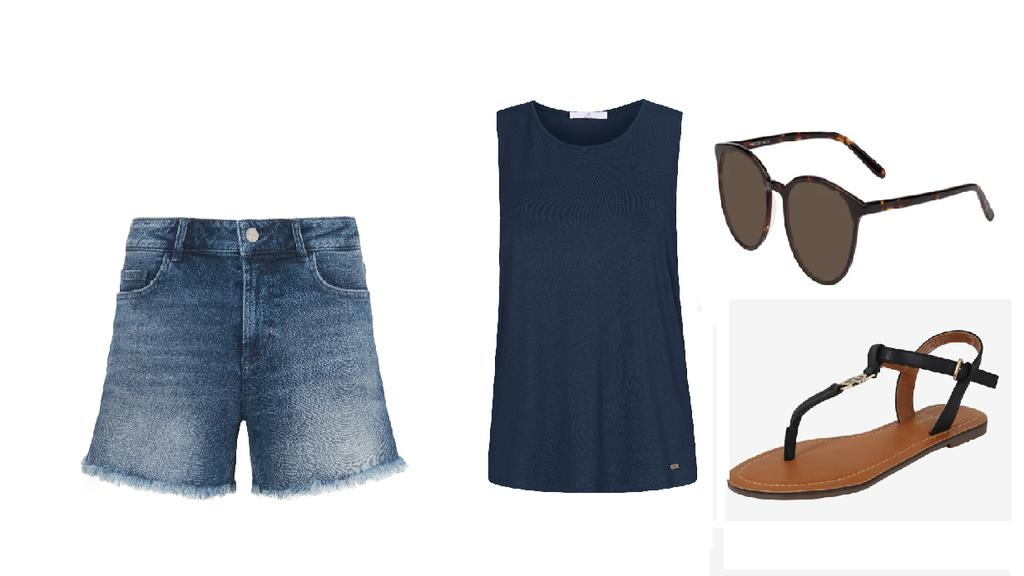 Stylishes Urlaubs-Outfit