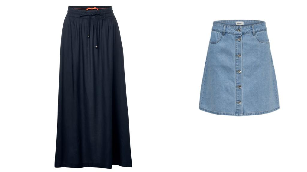 Mode für kleine Frauen.