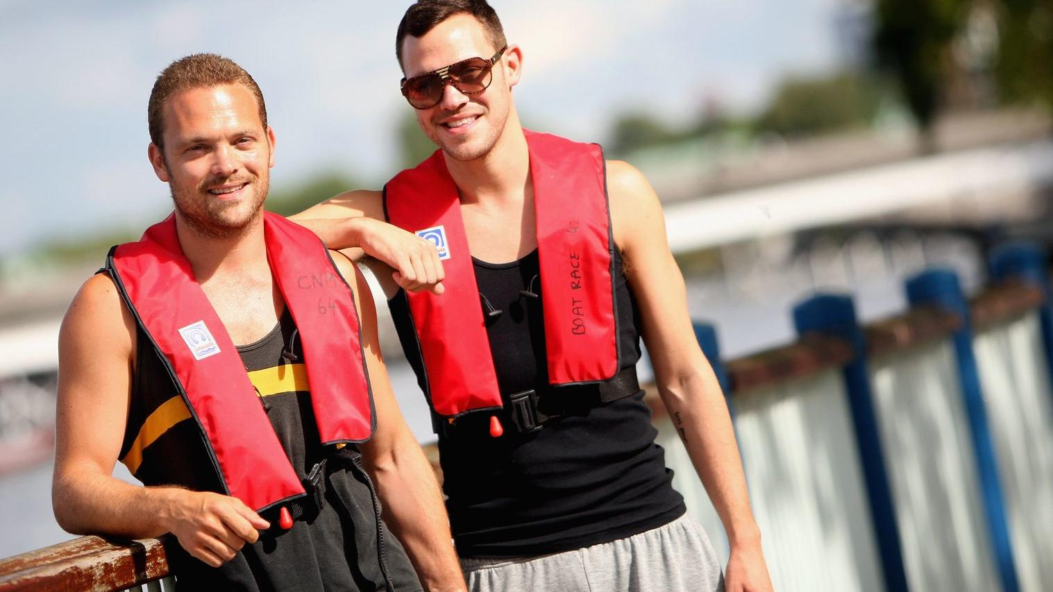 Zwillingsbrüder Rupert und Will Young