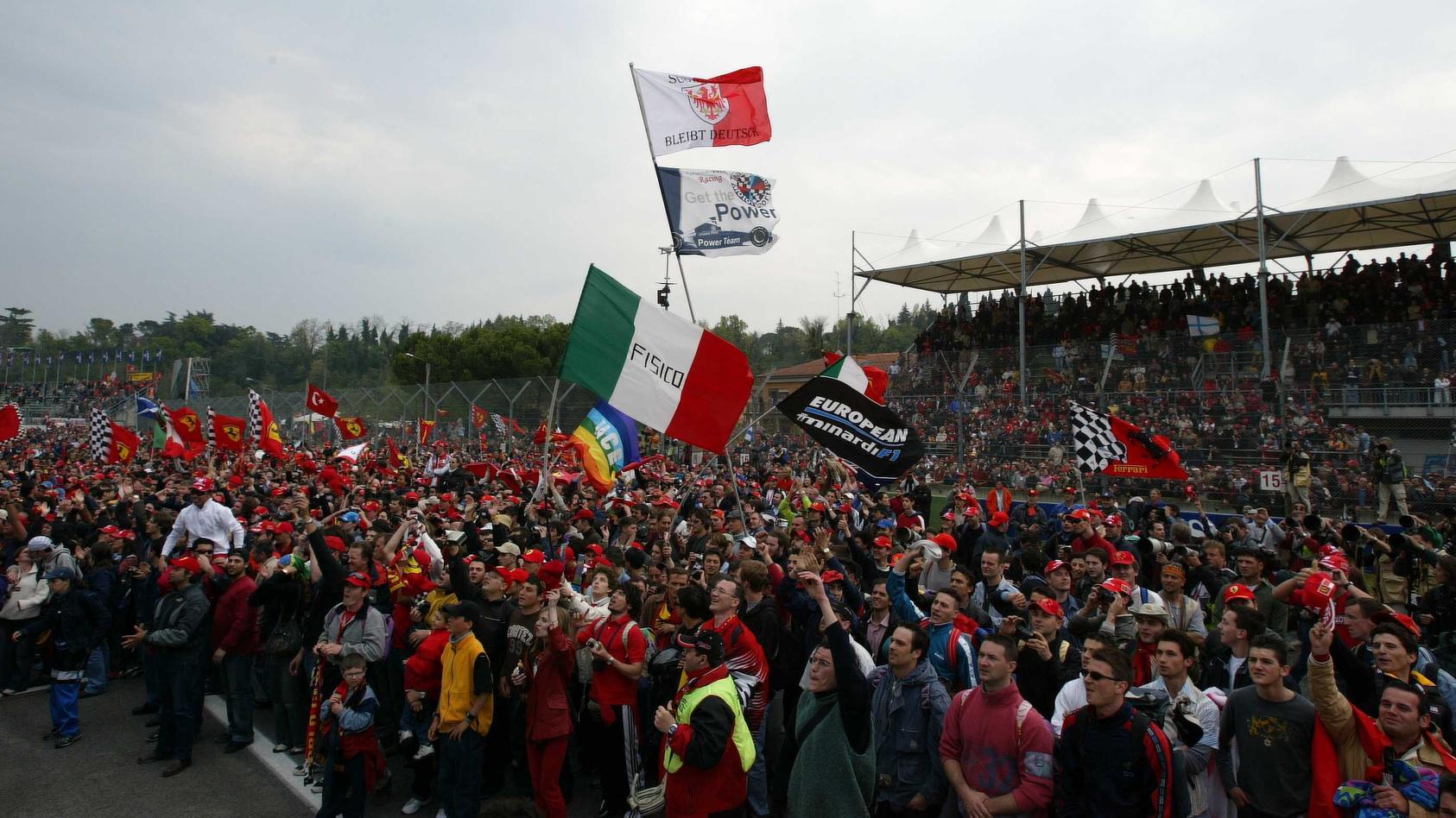 San Marino, F1, Fans