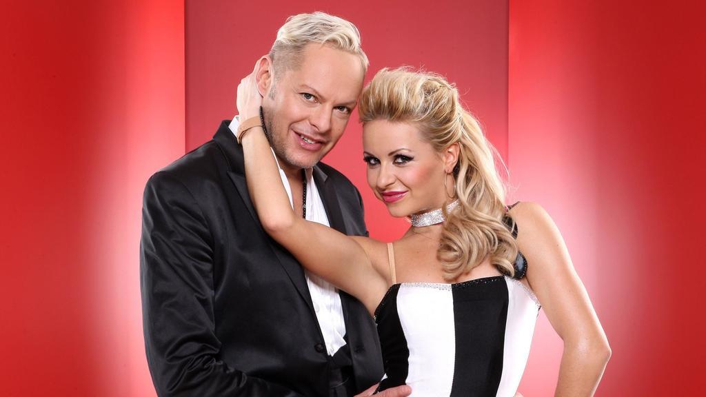 Musikproduzent Uwe Fahrenkrog-Petersen mit Profitänzerin Helena Kaschurow