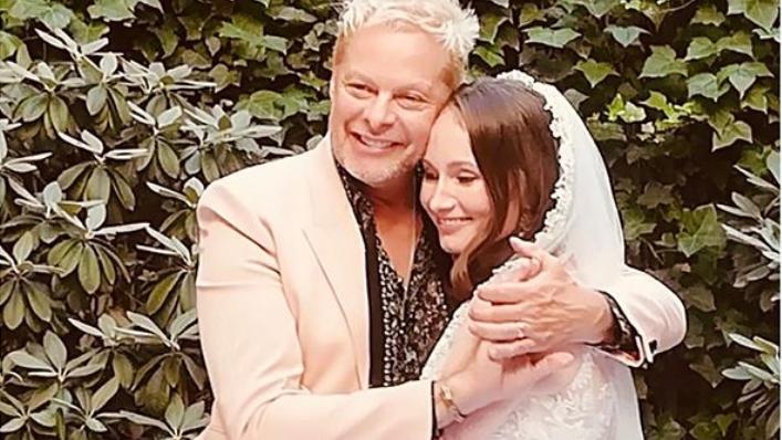 Uwe Fahrenkrog-Petersen bei seiner Hochzeit 2019