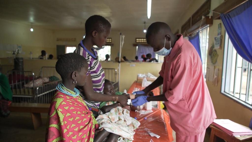 Krankenhaus in Uganda