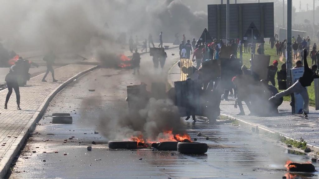 Proteste in Südafrika