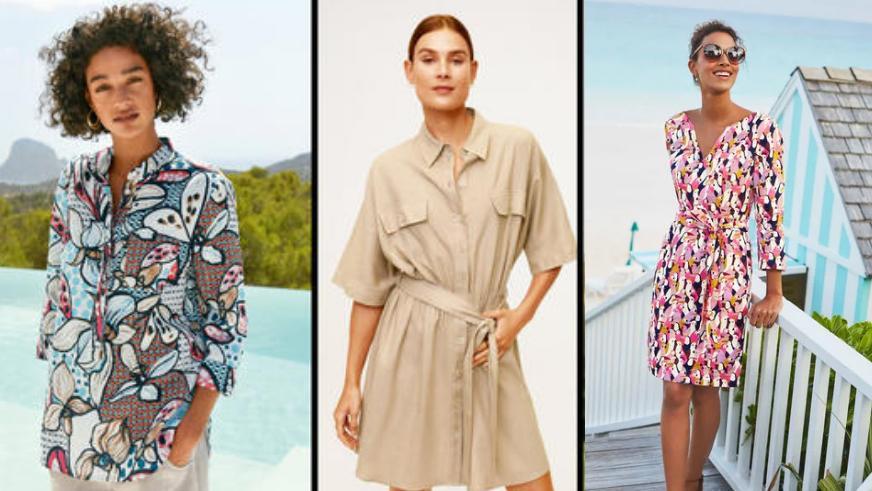 Sommerliche Kleidung