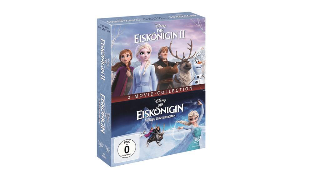 """""""Die Eiskönigin 1 und 2"""" auf DVD."""