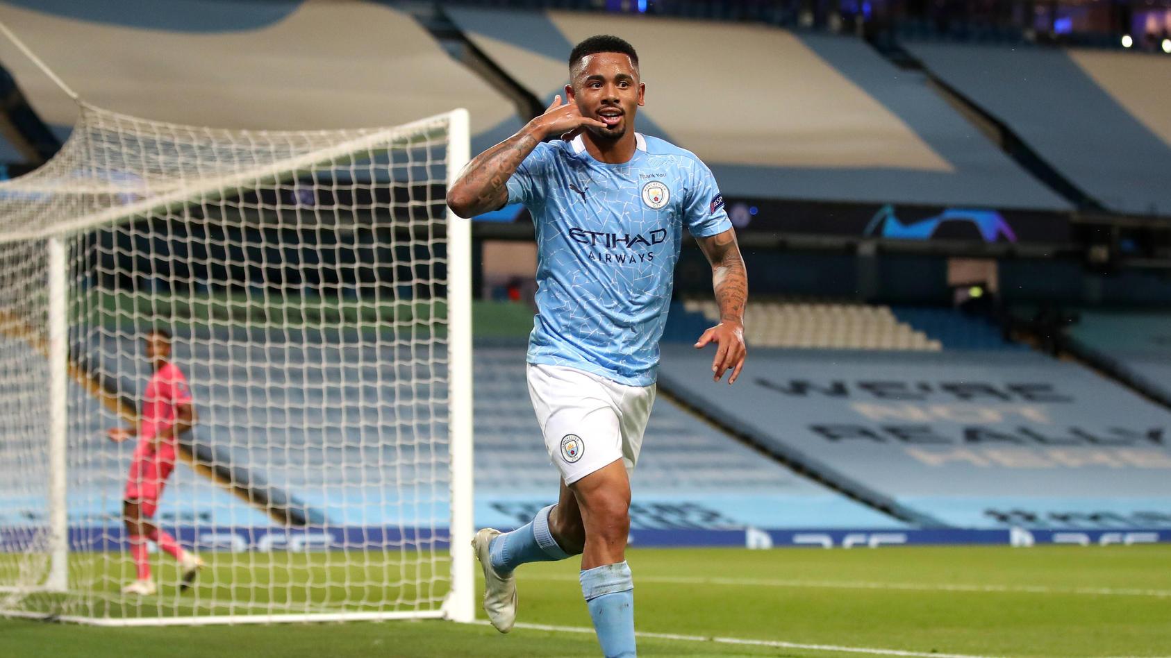 Manchester City macht dank des Treffers von Gabriel Jesus den Einzug ins Viertelfinale perfekt.