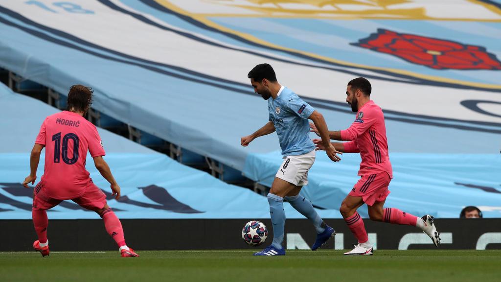 Ilkay Gündogan steht mit Manchester City im Viertelfinale der Champions League.