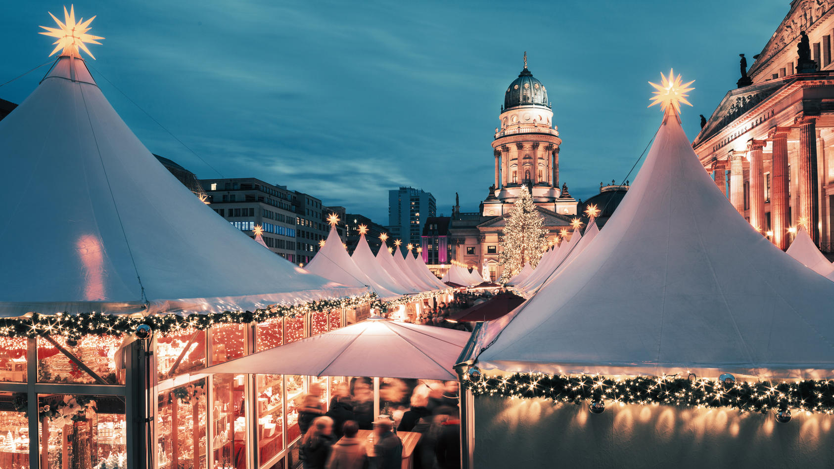 Aktuell ist geplant: Die Weihnachtsmärkte in Berlin sollen trotz Corona stattfinden.