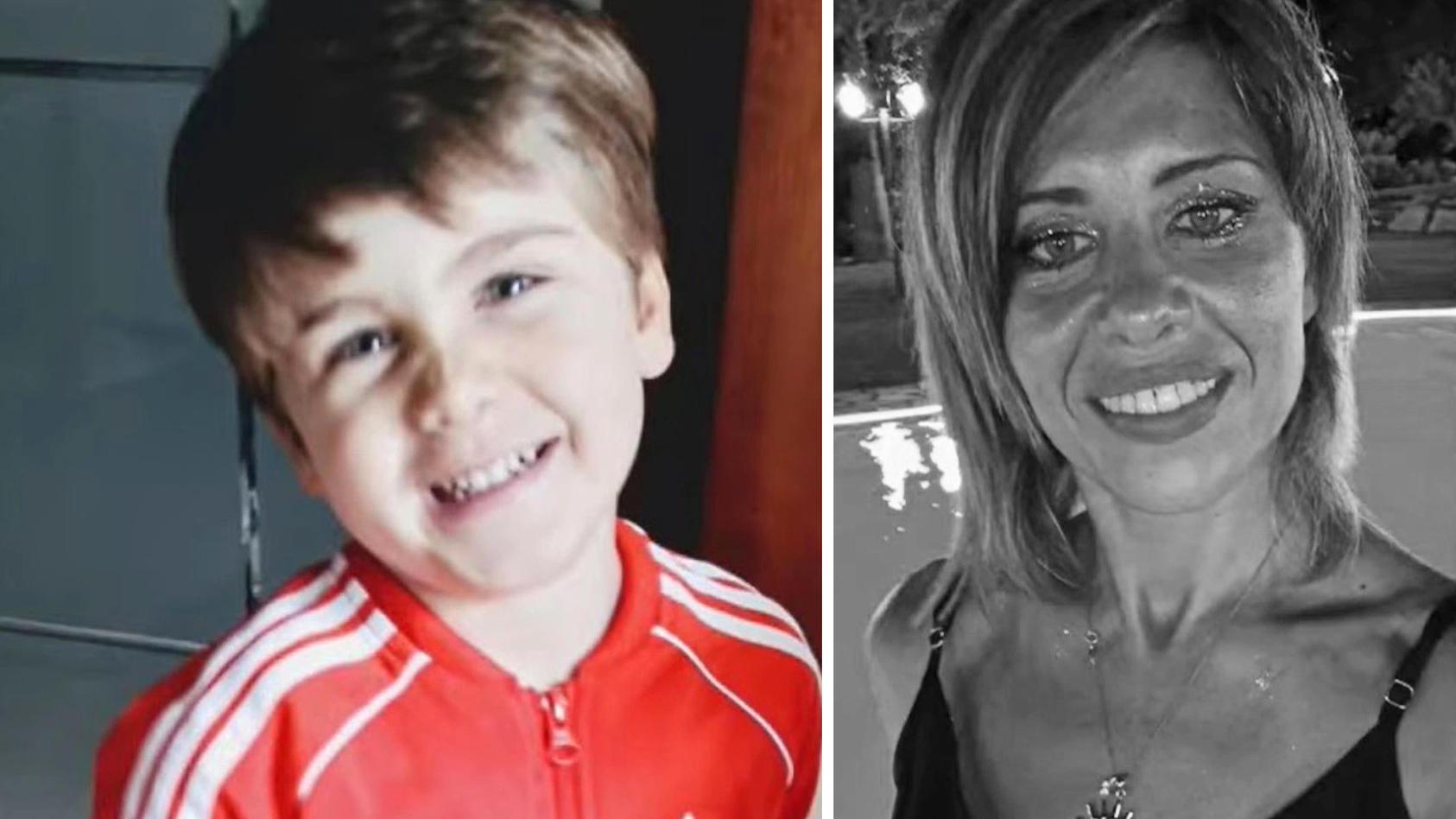 Gioele  war mit seiner Mutter Viviana Parisi unterwegs