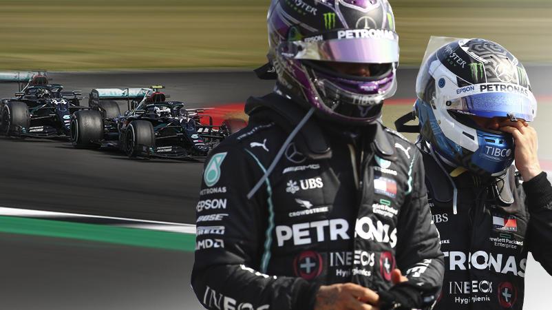 Lewis Hamilton und Valtteri Bottas
