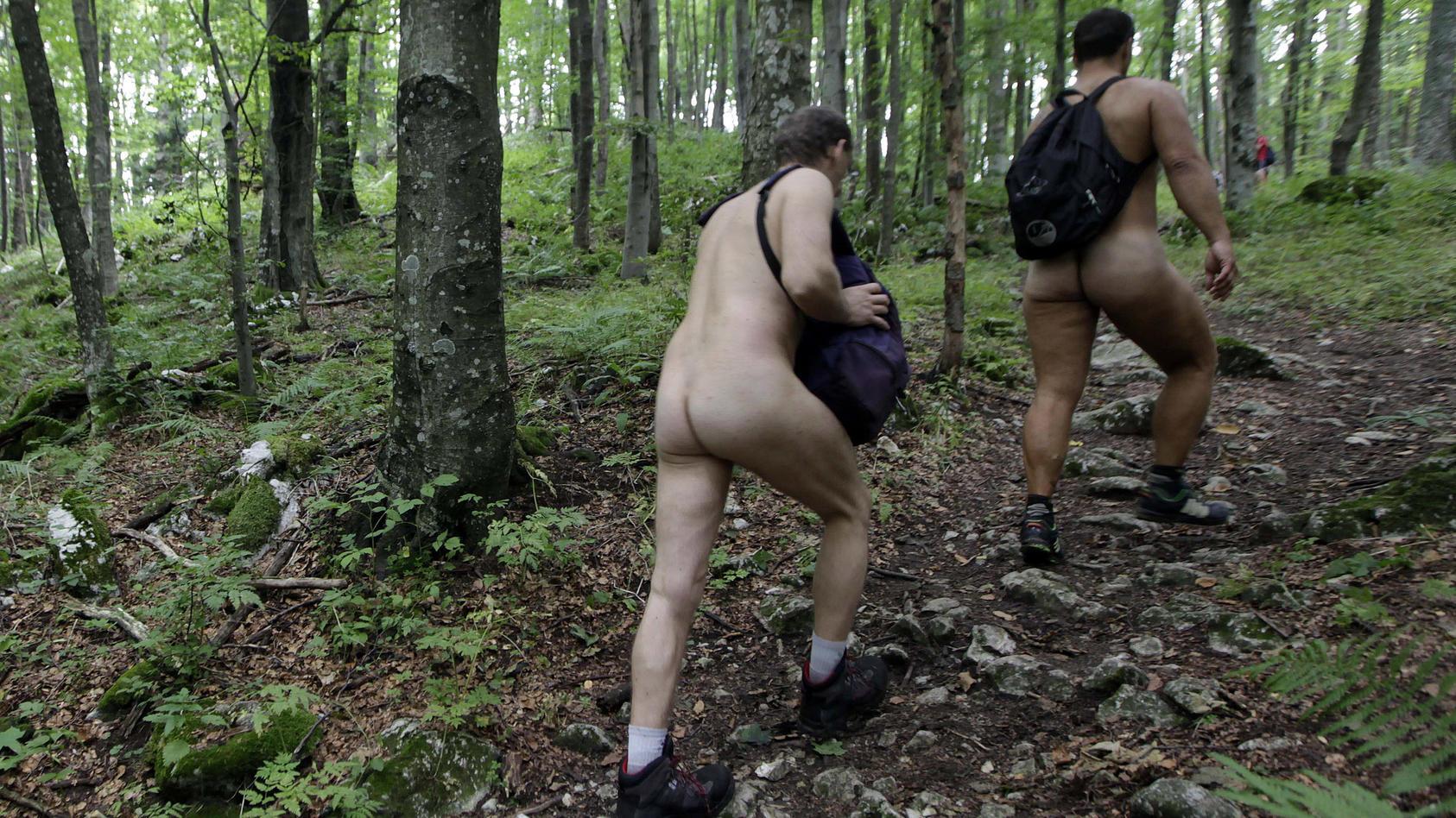 Nacktwandern (Symbolfoto)