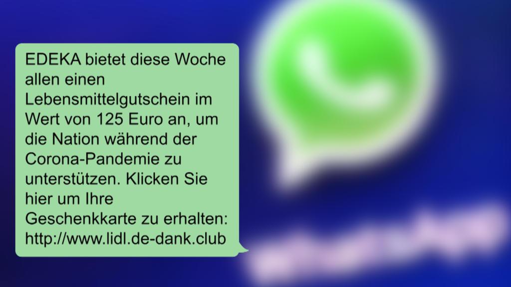 Betrüger verschicken Fake-Gutscheine von Edeka und LIDL
