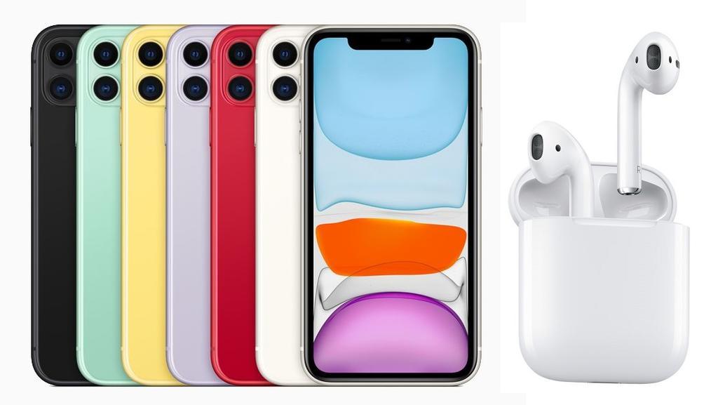 iPhone 11 plus AirPods mit Tarif