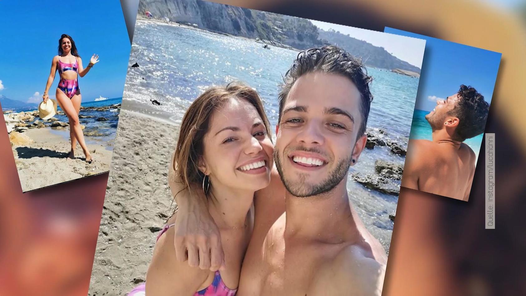 Die letzten Tage hat Luca Hänni gemeinsam mit Christina Luft im Sommerurlaub verbracht.