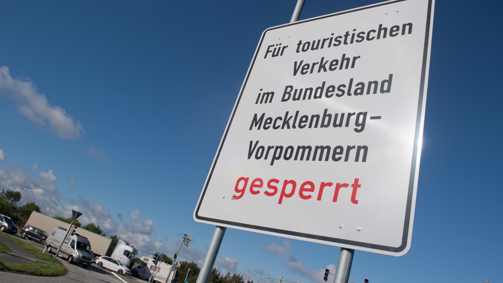 Tagestouristen in Mecklenburg-Vorpommern