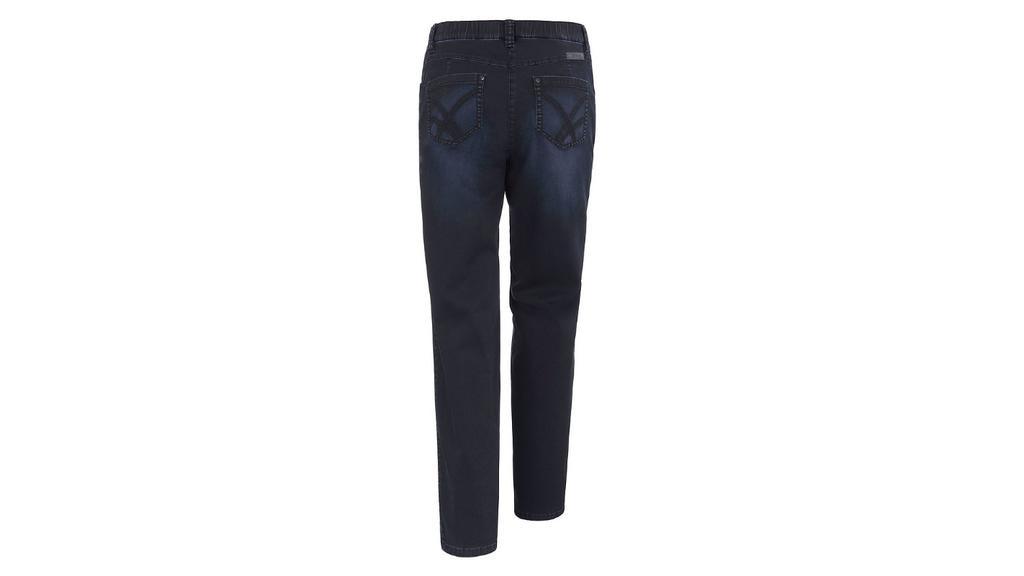 Straight Leg Jeans mit Details an den Gesäßtaschen.