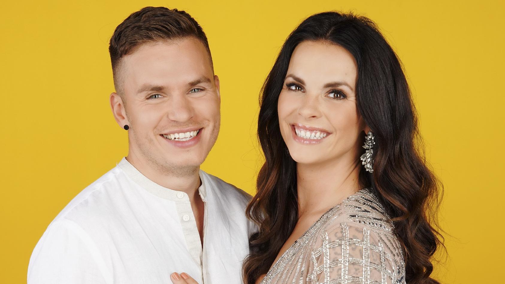 Henning Merten und Denise Kappés wollen heiraten.