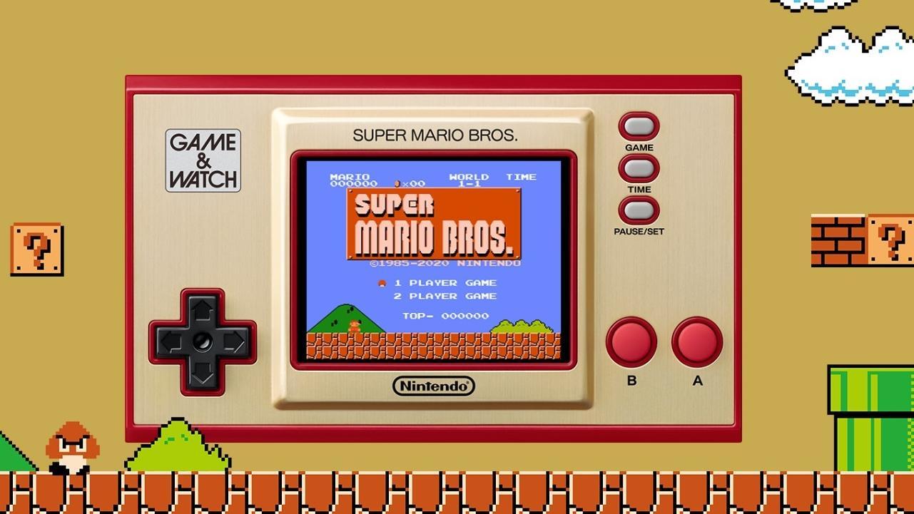 """Nintendo bringt zum 35. Jubiläum von Super Mario Bros. ein kultiges """"Game & Watch""""-Handheld raus."""