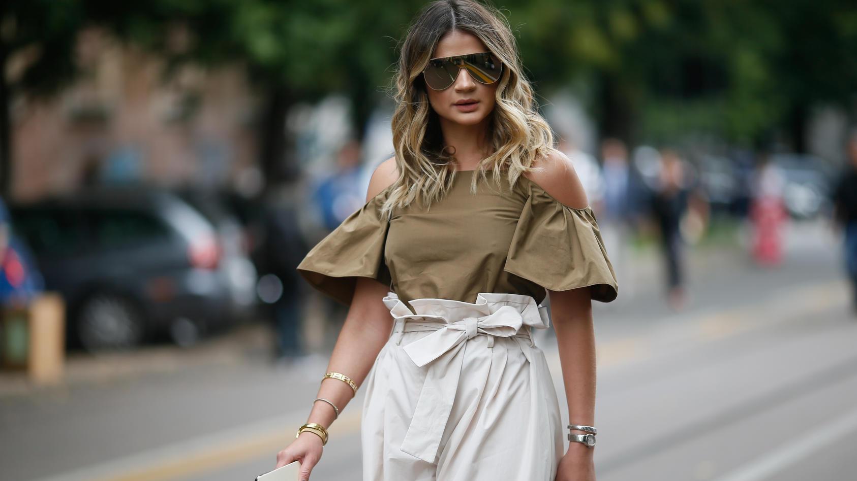 Milan Fashion Week: High-Waist ist am Start!