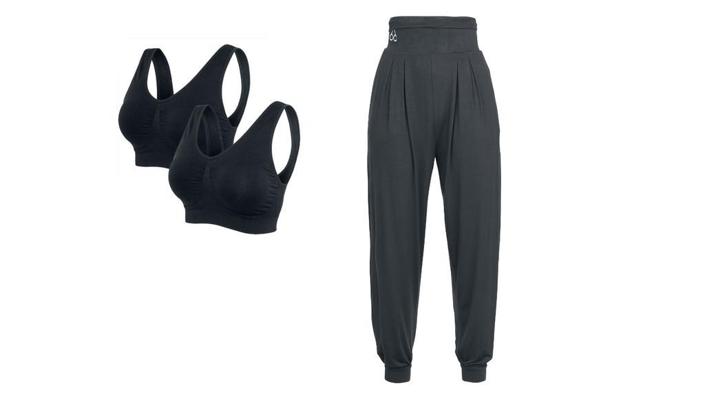 Outfit für Yoga und Pilates