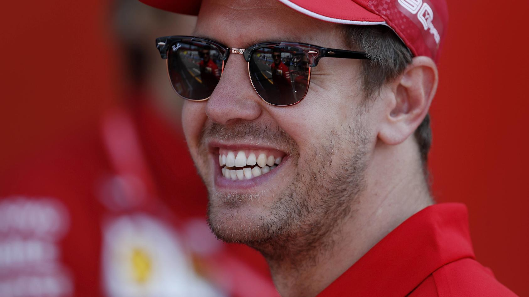 Sport Bilder des Tages VETTEL Sebastian Team Scuderia Ferrari F1 GP von Deutschland Hockenheim 2019