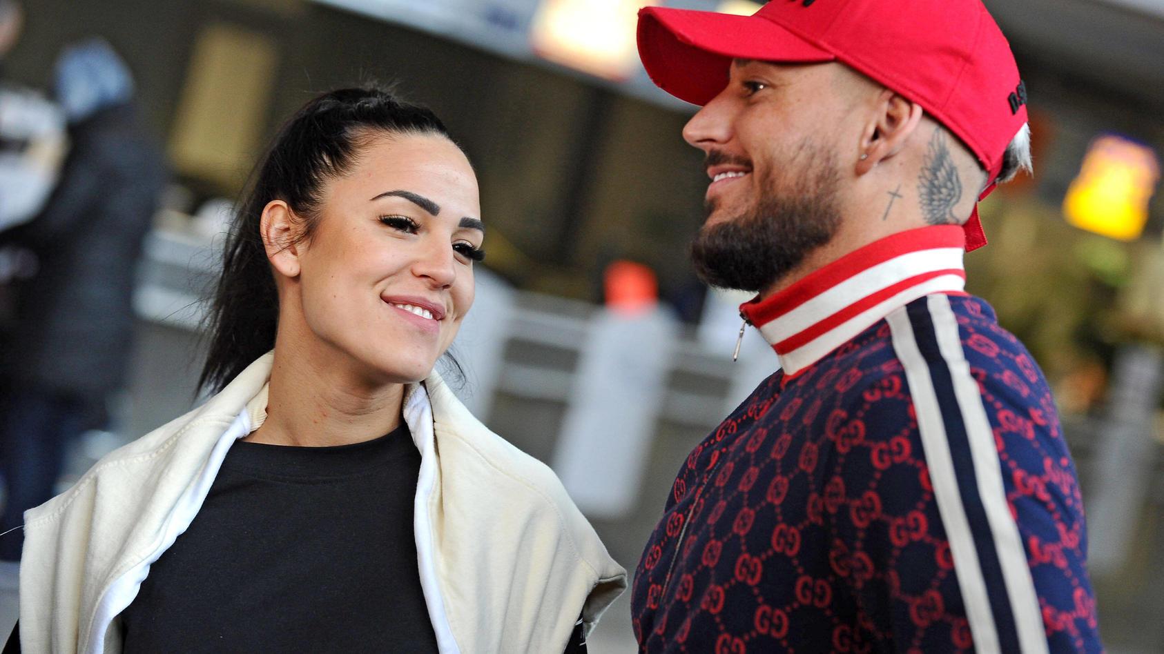 Elena Miras und Mike Heiter waren lange ein Traumpaar.