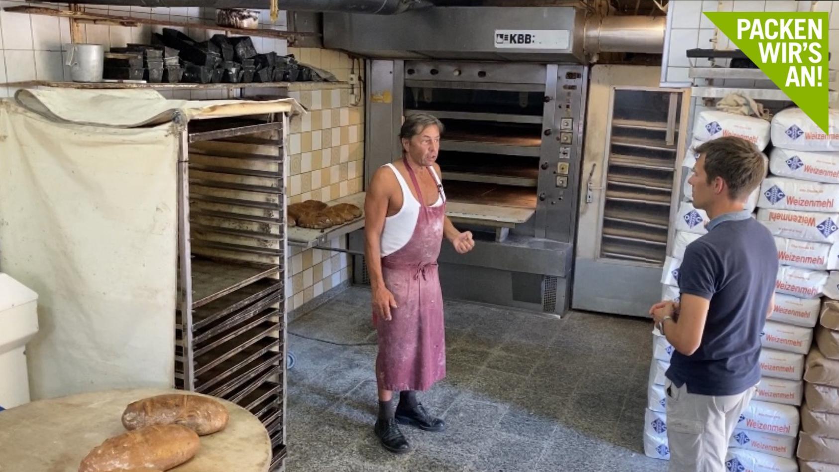 Bäcker Hardy Kunze aus Kayna.