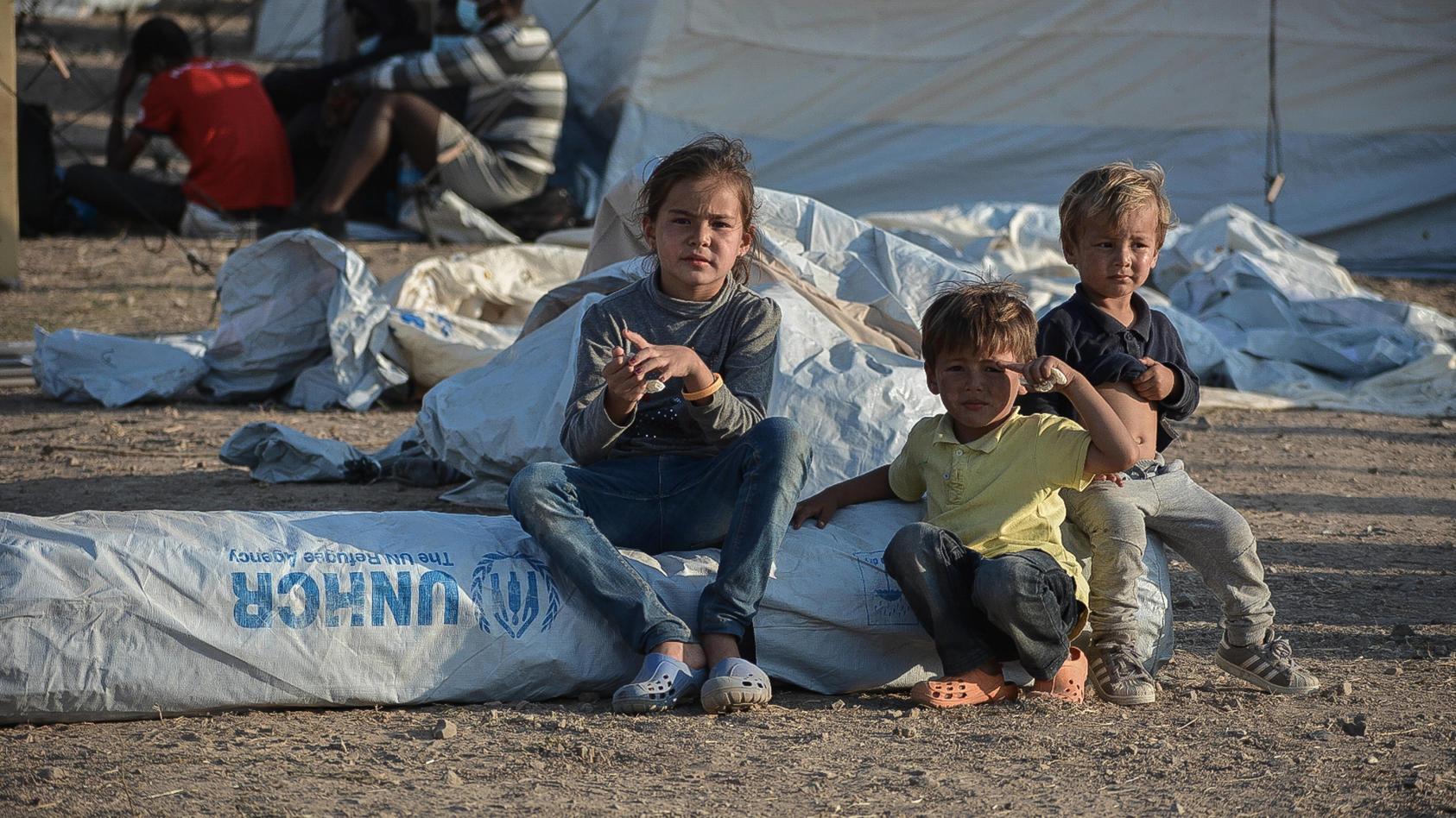 Tausende Menschen aus Moria leiden unter der Not und Europa diskutiert wieder - was tun mit den Flüchtlingen?
