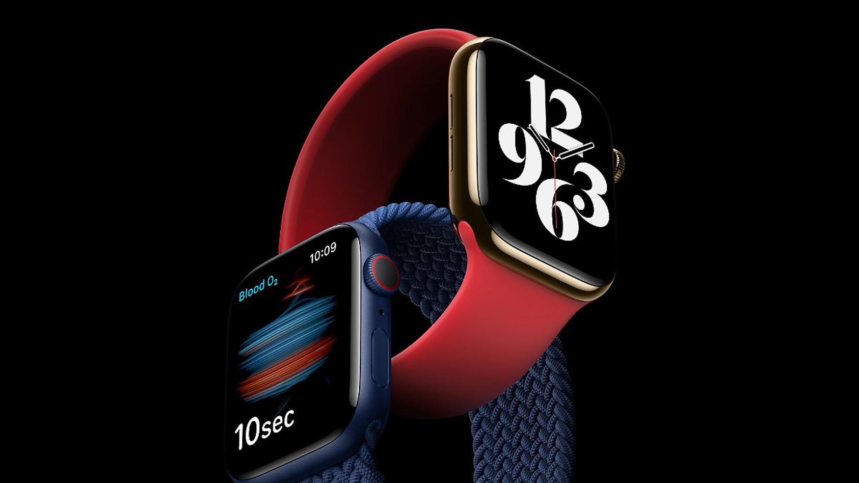 Die neue Apple Watch Series 6 war der Star der Apple-Show.