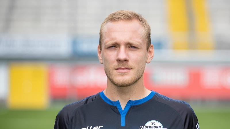 Spieler Ben Zolinski im Trikot des SC Paderborn. Foto: Friso Gentsch/dpa/Archiv