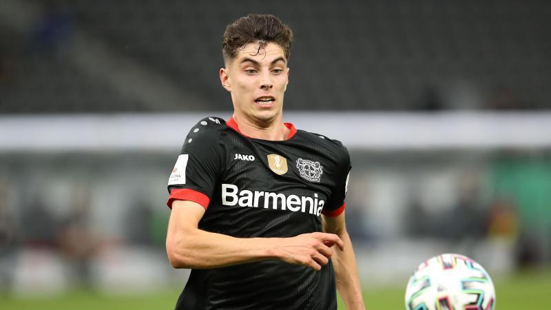 Leverkusens Spieler Kai Havertz. Foto: Alexander Hassenstein/Getty Images Europe/Pool/dpa/Archivbild