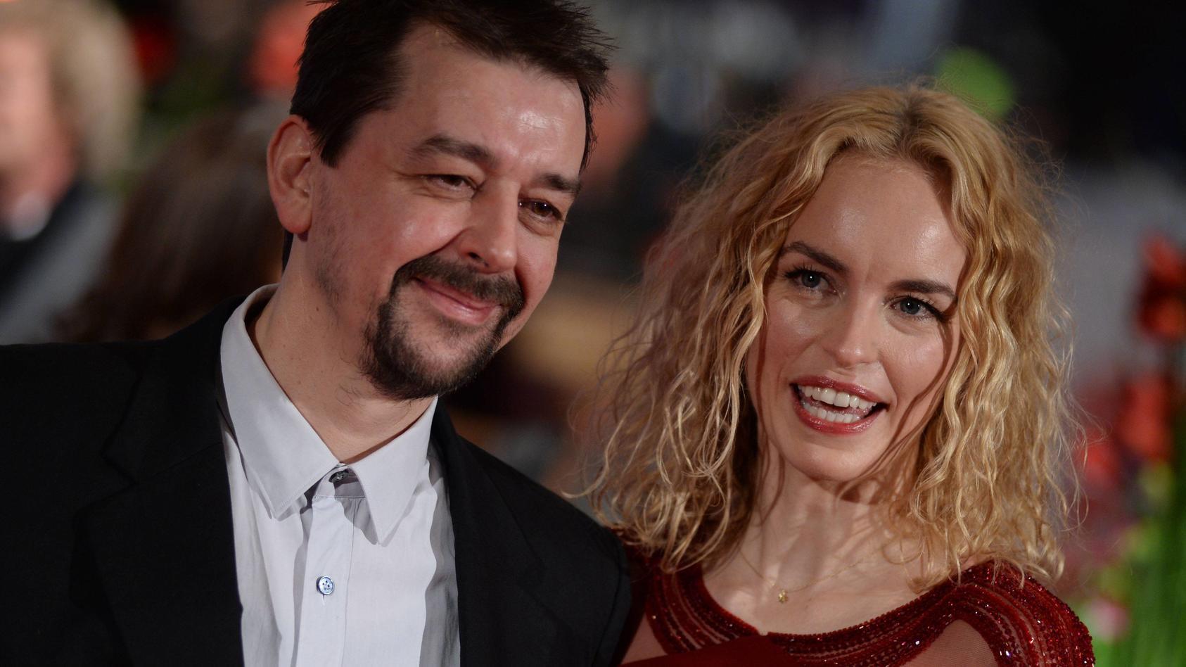 Schauspielerin Nina Hoss und Freund Alex Silva haben vor fünf Jahren geheiratet.