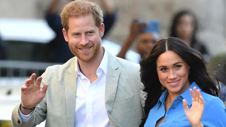 Erstes offizielles Porträt von Herzogin Meghan und Prinz Harry seit ihrem Rücktritt als Senior Royals veröffentlicht