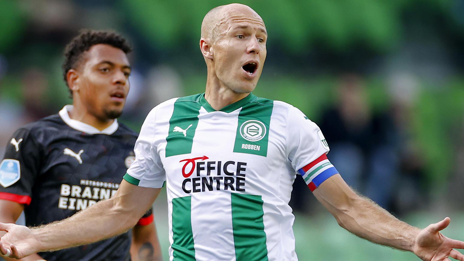 Arjen Robben im Dress des FC Groningen