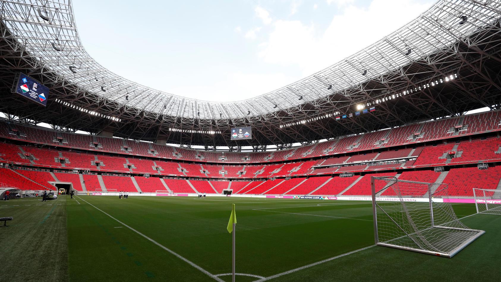 UEFA Nations League - League B - Group 3 - Hungary v Russia