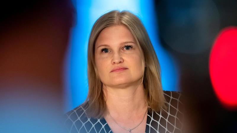 Katrin Ebner-Steiner, die Vorsitzende der AfD-Fraktion im bayerischen Landtag. Foto: Sven Hoppe/dpa/Archivbild